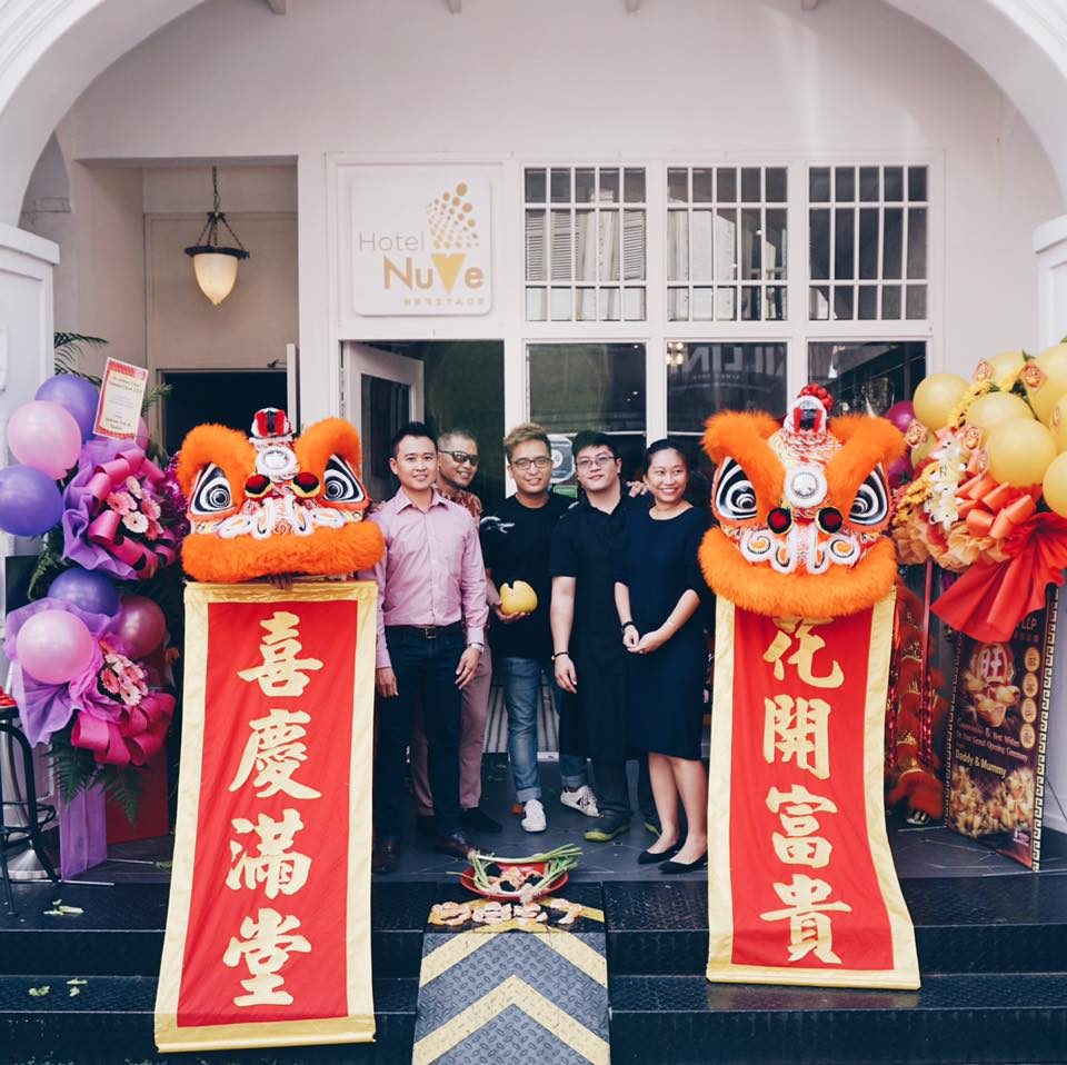 Grand Opening of Hotel NuVe Heritage