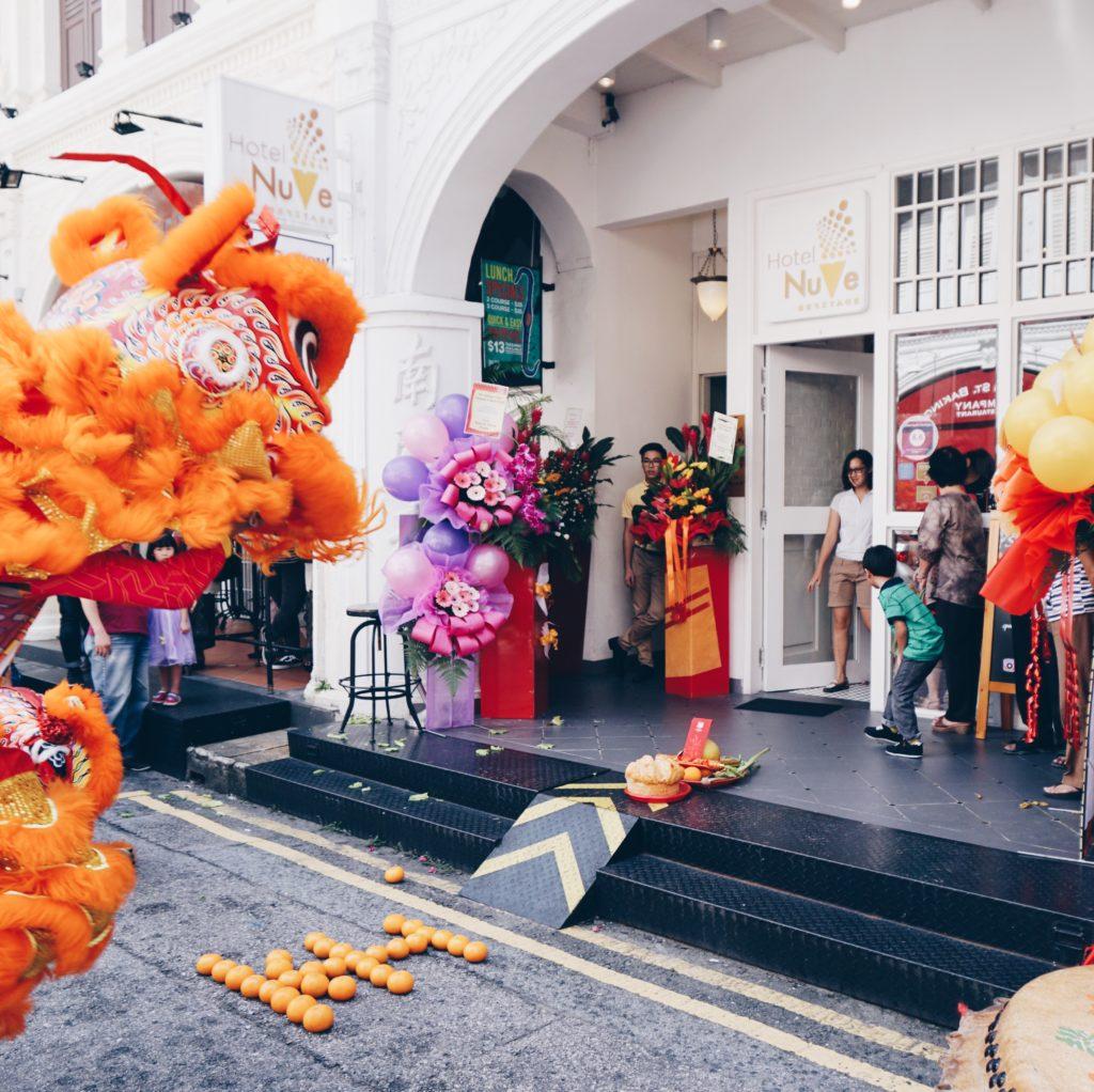 Hotel NuVe Heritage Lion Dance