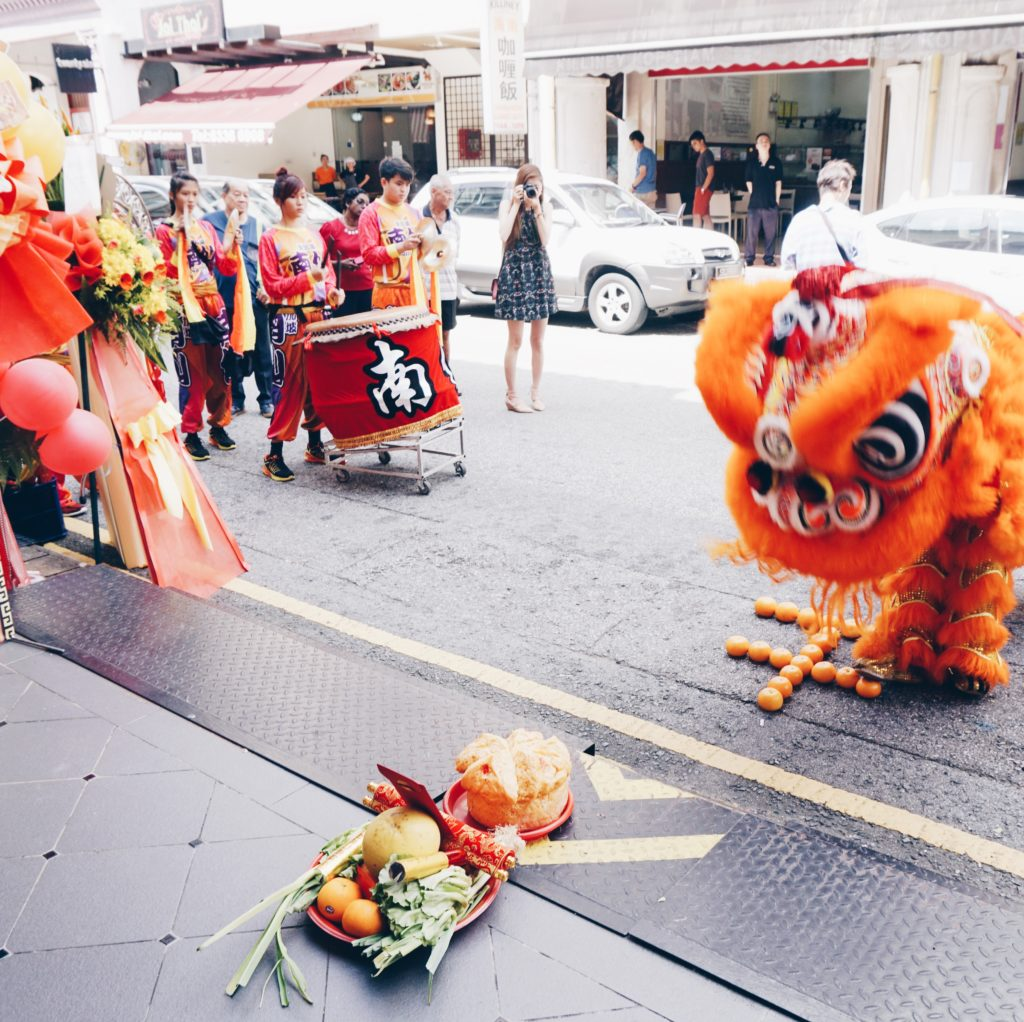 Hotel NuVe Heritage Grand Opening Lion Dance1